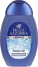 Profumi e cosmetici Shampoo e gel doccia - Felce Azzurra Fresh Ice
