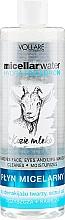 Profumi e cosmetici Acqua micellare idratante - Vollare Goat's Milk Micellar Water Hedra Hyaluron