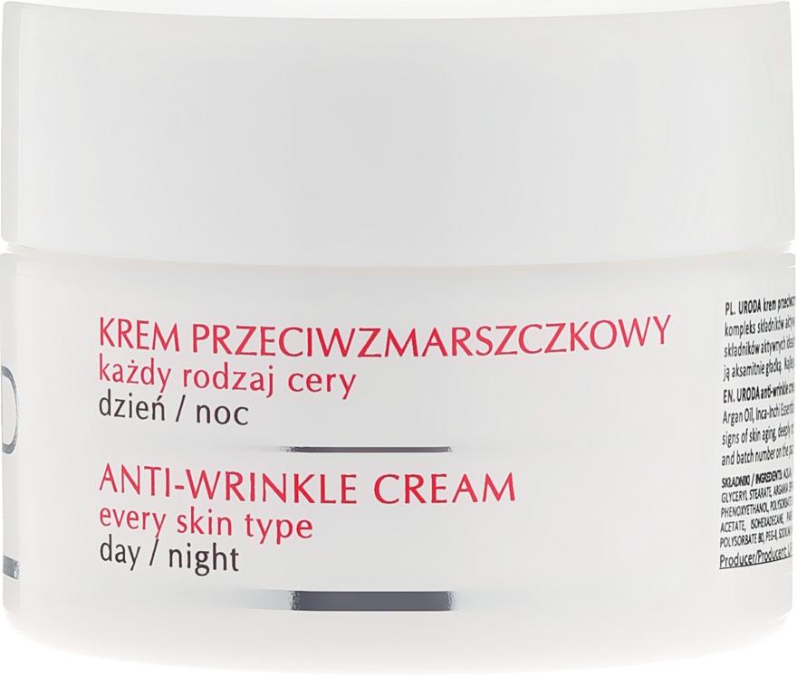Crema antirughe per tutti i tipi di pelle - Uroda Anti-Wrinkles Face Cream For All Skin Day Night