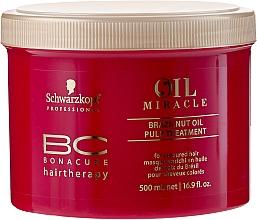 Maschera con olio di noce brasiliana - Schwarzkopf Professional Bonacure BC Miracle Brazilnut Oil Pulp Treatment — foto N3