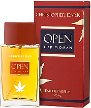 Profumi e cosmetici Christopher Dark Open - Eau de Parfum