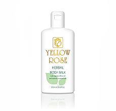Profumi e cosmetici Latte corpo - Yellow Rose Herbal Body Milk
