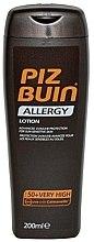 Profumi e cosmetici Crema protezione solare per il corpo - Piz Buin Allergy Sun Sensitive Skin Lotion SPF50