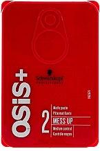 Profumi e cosmetici Pasta per capelli - Schwarzkopf Professional Osis+ Mess Up Matt Gum