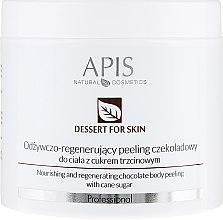 Profumi e cosmetici Peeling corpo - APIS Professional Dessert For Skin Nourishing And Regenerating Chocolate Body Peeling