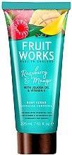 "Profumi e cosmetici Scrub corpo ""Lampone and Mango"" - Grace Cole Fruit Works Body Scrub Raspberry & Mango"