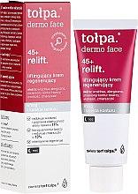 Profumi e cosmetici Crema viso rigenerante, da notte - Tolpa Dermo Face Relift 45+ Night Cream