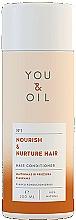 Profumi e cosmetici Balsamo per tutti i tipi di capelli - You & Oil Nourish & Nuture