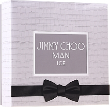 Profumi e cosmetici Jimmy Choo Man Ice - Set (edt/100 ml + ash/balm/100 ml + edt/7,5 ml)