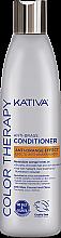 Profumi e cosmetici Condizionante per capelli colorati - Kativa Color Therapy Anti-Orange Effect Conditioner