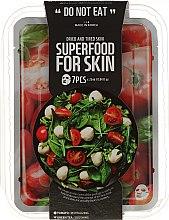 Profumi e cosmetici Set maschere in tessuto per pelli stanche e disidratate - Superfood For Skin (mask/7x25ml)