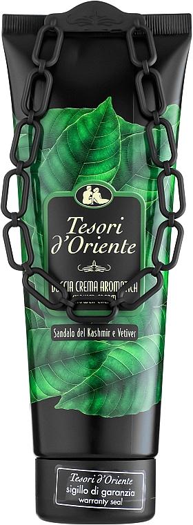 Tesori d`Oriente Sandalo Del Kashmir & Vetiver - Crema doccia aromatica