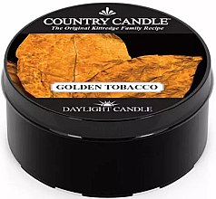 Profumi e cosmetici Candela da tè - Country Candle Golden Tobacco