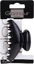 Profumi e cosmetici Pinza capelli, 0216, nera - Glamour