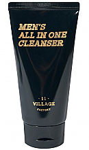 Profumi e cosmetici Schiuma-scrub detergente idratante - Village 11 Factory Men's All In One Cleanser