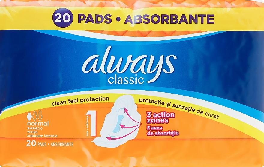 Assorbenti igienici 20pz - Always Classic Normal
