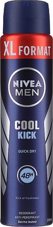 Deodorante-spray - Nivea Men Cool Kick Deo Spray