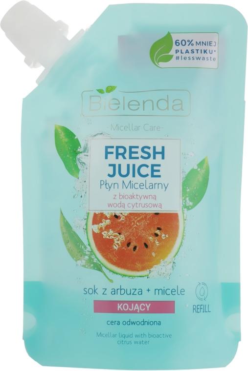 "Liquido micellare ""Anguria"" - Bielenda Fresh Juice Detoxifying Face Micellar Water Watermelon"