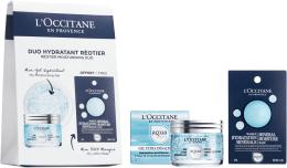 Profumi e cosmetici Set - L'Occitane Aqua Reotier (f/gel/50ml + mask/6ml)