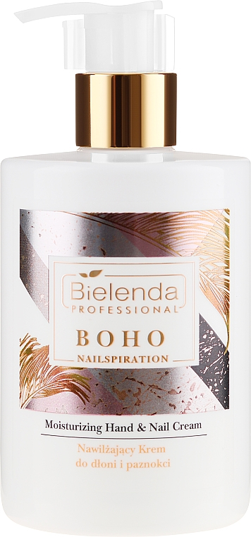 Crema mani e unghie idratante - Bielenda Professional Nailspiration Boho Moisturising Hand & Nail Cream