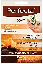 Profumi e cosmetici Maschera mani rigenerante - Perfecta Spa Hand Peeling