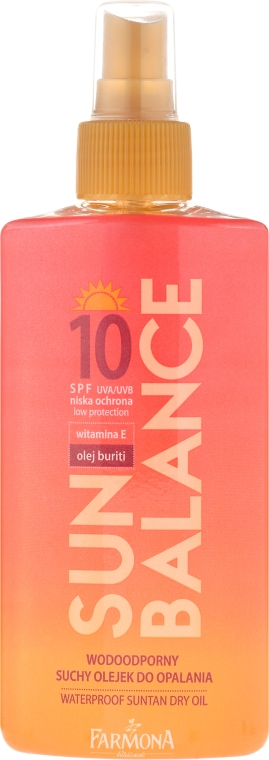 Olio abbronzante SPF10 - Farmona Sun Balance SPF10