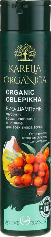"""Bio-shampoo rigenerante e nutriente """"Organic Oblepikha"""" - Fratty NV Karelia Organica"""