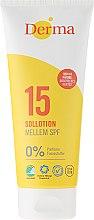 Profumi e cosmetici Lozione solare SPF15 - Derma Sun Lotion SPF 15