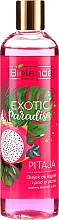 "Profumi e cosmetici Gel doccia ""Pitaya"" - Bielenda Exotic Paradise Bath And Shower Oil"