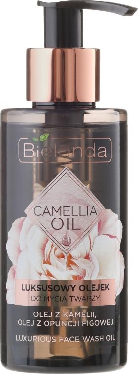 Olio detergente viso - Bielenda Camellia Oil Luxurious Cleansing Oil