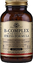 Profumi e cosmetici Integratore alimentare - Solgar B-Complex With Vitamin C Stress Formula
