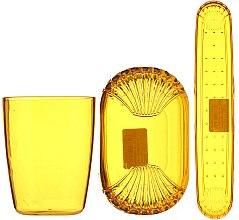 Set di accessori da viaggio, 9819, giallo - Donegal — foto N1