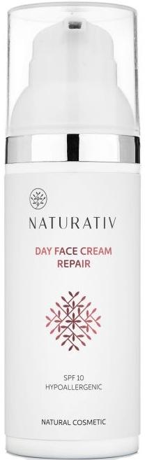 Crema viso, da giorno - Naturativ Day Face Cream Repair SPF 10 — foto N1