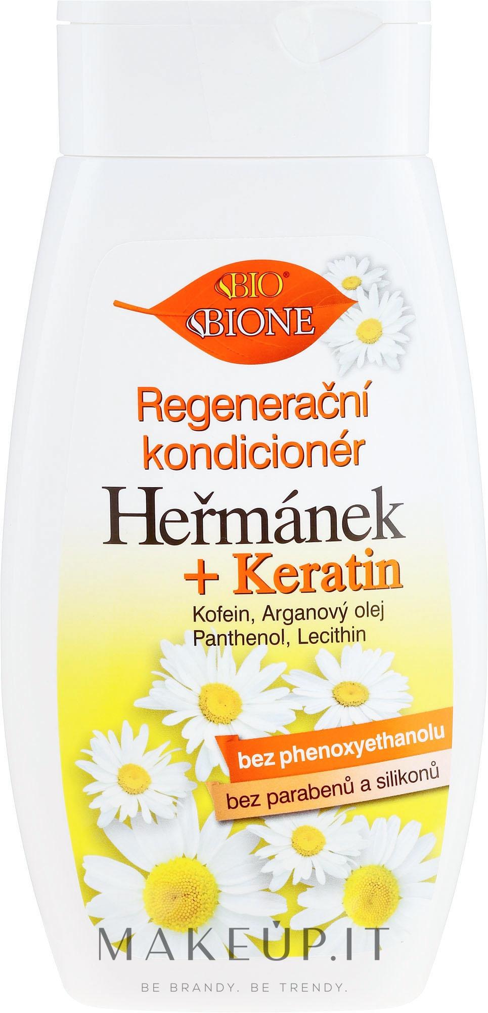 Balsamo capelli con camomilla - Bione Cosmetics Hermanek — foto 260 ml