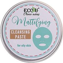 Profumi e cosmetici Pasta detergente viso - ECO U Mattifying Cleansing Paste For Oily Skin