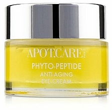 Profumi e cosmetici Crema contorno occhi antietà - APOT.CARE Phyto Peptide Eye Cream