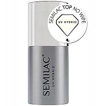 Profumi e cosmetici Top Coat senza strato appiccicoso - Semilac UV Hybrid No Wipe