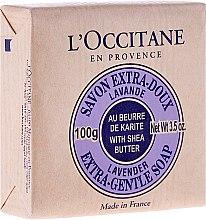 Profumi e cosmetici Sapone alla lavanda e burro di karitè - L'Occitane Shea Butter Extra Gentle Soap-Lavender