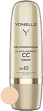 Profumi e cosmetici CC crema antirughe SPF 10 - Yonelle Metamorphosis D3 Anti Wrinkle CC Cream SPF10
