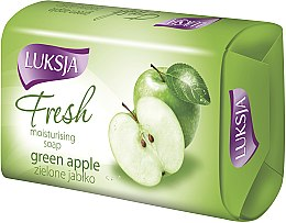 "Profumi e cosmetici Sapone ""Mela Verde"" - Luksja Fresh Green Apple Moisturizing Soap"