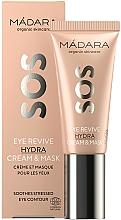 Profumi e cosmetici Crema-maschera contorno occhi - Madara Cosmetics SOS Eye Revive Hydra Cream & Mask