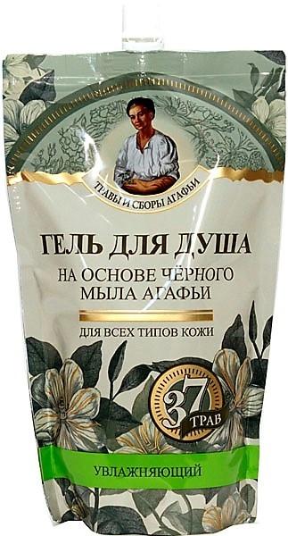 """Gel doccia """"Siberiano"""" a base di sapone nero - Ricette della nonna Agafia (doypack)"""