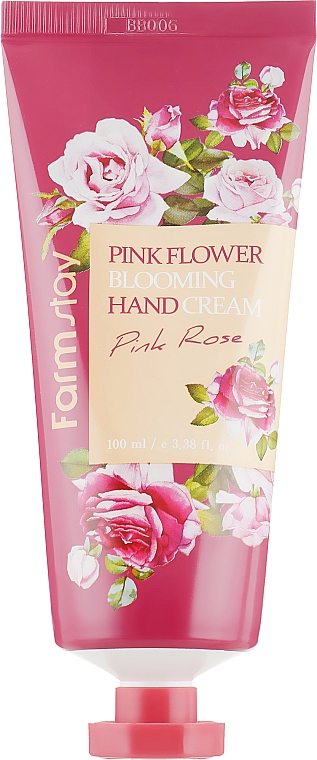 Crema mani all'estratto di rosa - FarmStay Pink Flower Blooming Hand Cream Pink Rose — foto N2