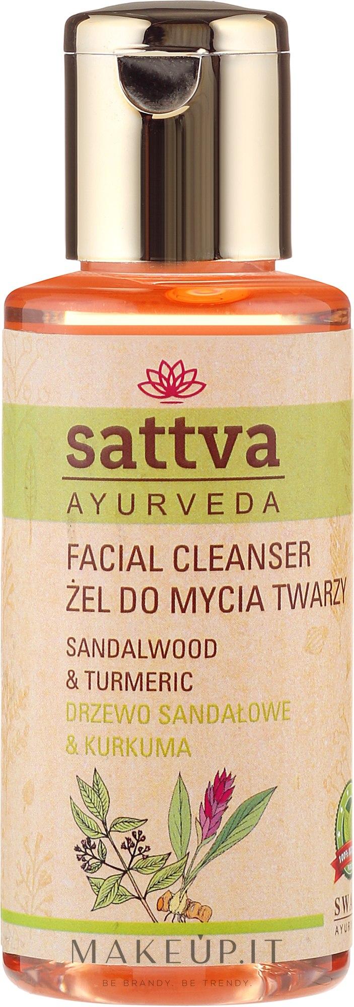 Gel detergente viso - Sattva Facial Cleanser Sandalwood — foto 100 ml