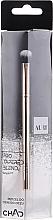 Profumi e cosmetici Pennello da sfumatura per ombretti, 206 - Auri Chad Pro Tapered Blend Brush