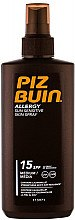 Profumi e cosmetici Spray abbronzante corpo - Piz Buin Allergy Spray Spf15