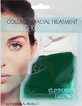 Profumi e cosmetici Maschera al collagene con estratto di cetriolo - Beauty Face Cucumber Extract Collagen Mask