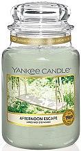 Profumi e cosmetici Candela profumata in barattolo - Yankee Candle Afternoon Escape