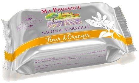 """Sapone di Marsiglia """"Arancione"""" - Ma Provence Marseille Soap Orange"""