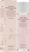 Profumi e cosmetici Tonico idratante con estratto di cacao - Benton Cacao Moist and Mild Toner